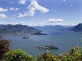 Isola Bella and Isola Madre  Stresa  Lake Maggiore  Piedmont  Italy  Europe