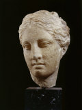 Head of Hygeia  Greek Goddess of Health  Marble  c 350 BC Classical Greek