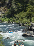 Rafting on the South Fork of the Trinity River
