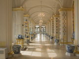 World Famous Porcelain Collection in the Zwinger  Dresden  Saxony  Germany  Europe