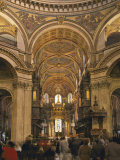 St Paul's Cathedral Interior  London  England  United Kingdom  Europe
