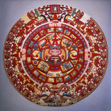 Solar Calendar  Aztec  Mexica Culture (Reconstruction)
