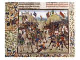 Battle of Crecy in 1346  Victory of Black Prince  Son of King Edward III  over Philip VI of France