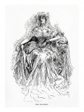 Miss Havisham  Illustration from Great Expectations