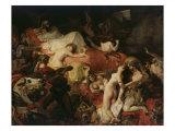 The Death of Sardanapalus  1827