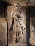 Gilgamesh  or the Lion Spirit  Stone relief  Assyrian  8th century BC