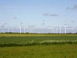 Wind Turbines in South Jutland  Denmark  Scandinavia  Europe