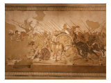 Battle of Issus Between Alexander the Great  356-323 BC
