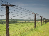 Only Section That Remains of Iron Curtain in Czech Republic