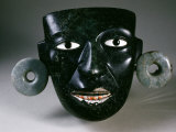 Mask  with Earrings  from Teotihuacan  Mexico