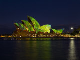 Festival of Light  Sydney Opera House  Sydney  New South Wales  Australia