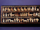 The Standard of Ur  Sumerian  Southern Iraq  c 2500 BC