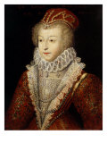 Margaret of Valois and France  also Queen Margot  1553-1615  Sister of Henry III