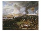 Battle of Borodino or the Moskva  September 7  1812  between Napoleon and Kutuzov