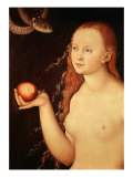 Eve  from Adam and Eve  1528