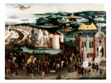 Meeting at the Field of the Cloth of Gold near Guines  France  7 June 1520