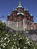 Uspenski Cathedral  Helsinki  Finland  Scandinavia  Europe