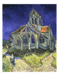L'ise d'Auvers-sur-Oise vue du Chevet (Church of Auvers-sur-Oise)  1890