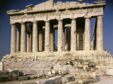 The Parthenon  477 - 438 Doric Greek  Architects Ictinus and Callicrates with Phidias