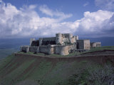 Fortress of Krak des Chevaliers  Syria  Built by Knights of Saint John