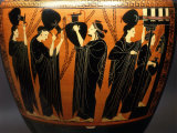 Women at a Fountain  Black-figure Amphora  7th century BC Attic Greek