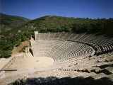 The Theatre at Epidauros  4th century BC Classical Greek