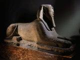 Amenhotep III  1390-1352 BC 18th Dynasty New Kingdom Egyptian Pharaoh  as Sphinx  Limestone
