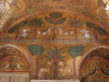 Hunting Scene  Mosaic  Palazzo dei Normanii or Palazzo Reale   Palermo  Sicily