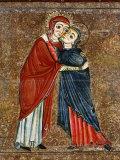 Visitation  Altarpiece of Santa Maria de Lluca  c1225-50