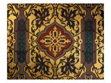 Painted Cloth in Henry II Style  Chambre of Catherine de Medici  Chau de Blois  France