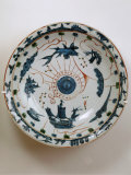 Fujian Plate with Maritime Motif  Swatow Porcelain 1573-1620  Ming Dynasty