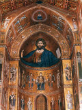 Mosaics on Apse including Christ Pantocrator  12th century