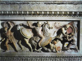 Battle Between Greeks and Persians  Relief  Alexander Sarcophagus