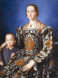 Eleanor of Toledo  with her son Jean de Medici  c 1545