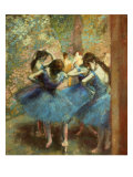 Blue dancers  c 1890