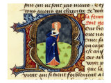 Pregnant Woman  Folio 47 of 1356 Manuscript Treatise on Medicine by Aldebrando di Firenze