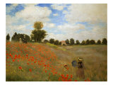 Les Coquelicots  (Poppies near Argenteuil) 1873