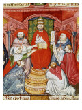 Pope Clement VII  1478-1534 (Giulio de Medici)  Dictating his Laws  16th century Manuscript