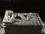 Hermaphrodite Sleeping  Marble  2nd century AD  Imperial Roman from Baths of Diocletian  Rome