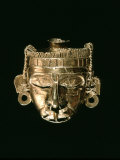 God Xipe Totec  Gold Mask  called Nuestro Senor el Desollado