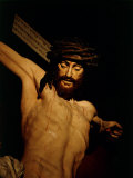 The Merciful Christ  Detail of Head with Crown of Thorns