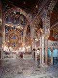 Palatine Chapel  Palazzo dei Normanii or Palazzo Reale  1132-40  Palermo  Sicily