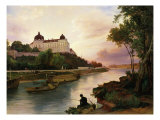 Klosterneuburg Monastery  on Danube river  Austria