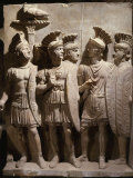Officers and Soldiers of the Praetorian Guard  Relief  2nd century AD Roman