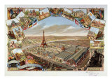 View of Exposition Universelle  Paris  France  1889