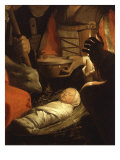 Infant Christ  from The Adoration of the Shepherds