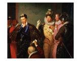 Henry III  1551-89 King of France  Pushing Body of Duc de Guise