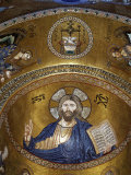 Christ Pantocrator  Palatine chapel  Palazzo dei Normanii or Palazzo Reale  Palermo  Sicily