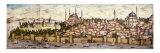 Sarayburnu  Seraglio Point  Hagia Sophia  the Blue Mosque and Topkapi Palace  late 16th century