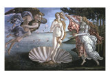 The Birth of Venus  with Chloris  Zephyrus and Spring  c1485